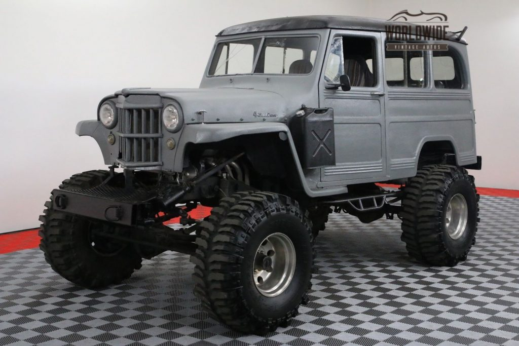 Chevy Frame 1954 Willys Wagoneer Monster Truck For Sale
