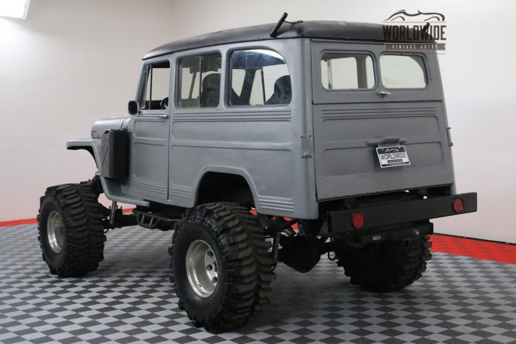 Chevy frame 1954 Willys Wagoneer Monster Truck