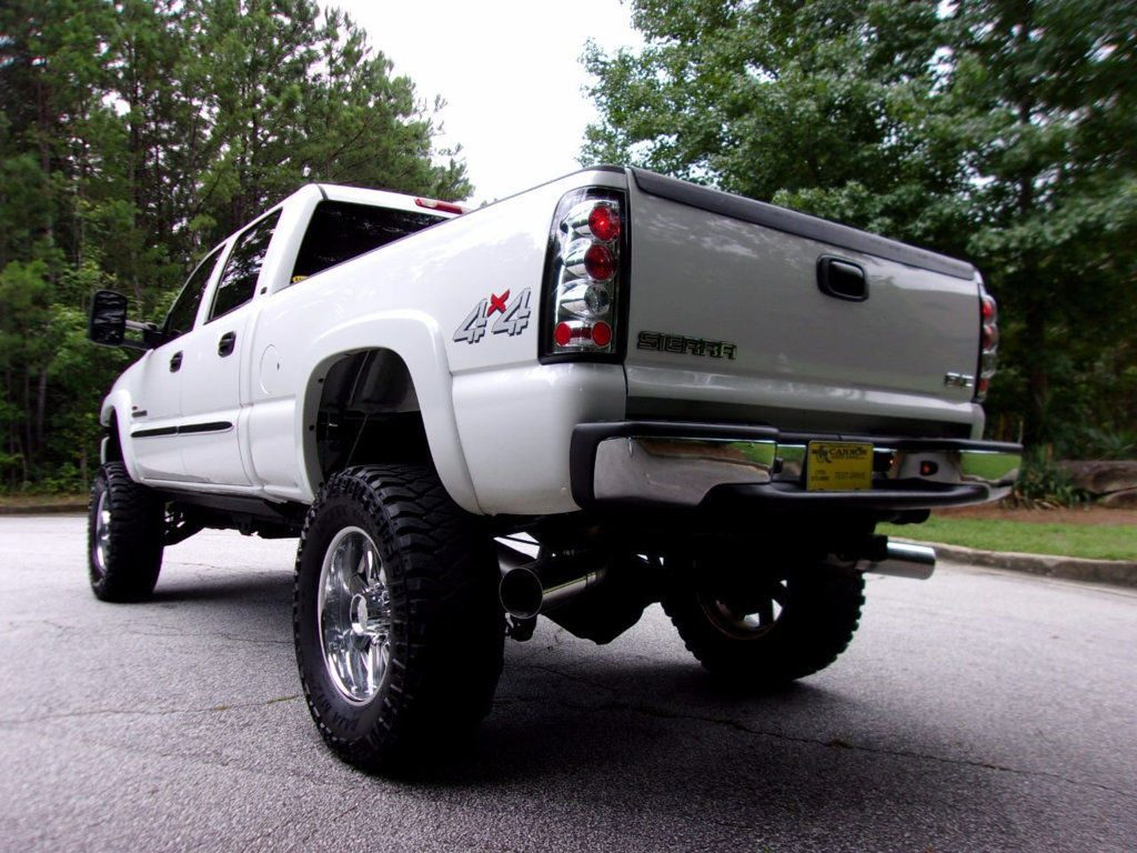 lifted 2006 gmc sierra 2500 crew cab slt monster for sale. Black Bedroom Furniture Sets. Home Design Ideas