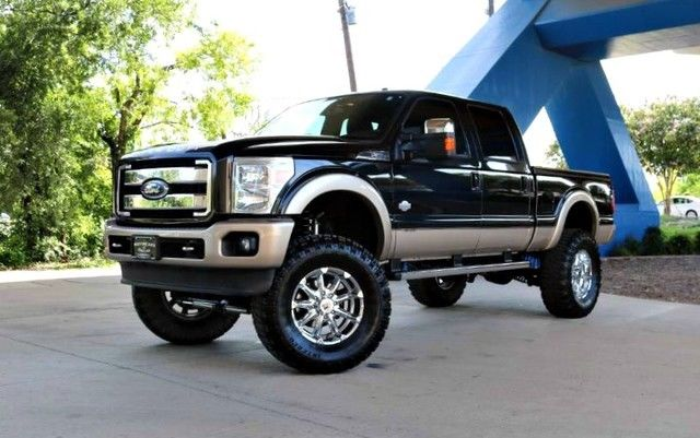 luxury work truck 2011 Ford F 250 King Ranch monster