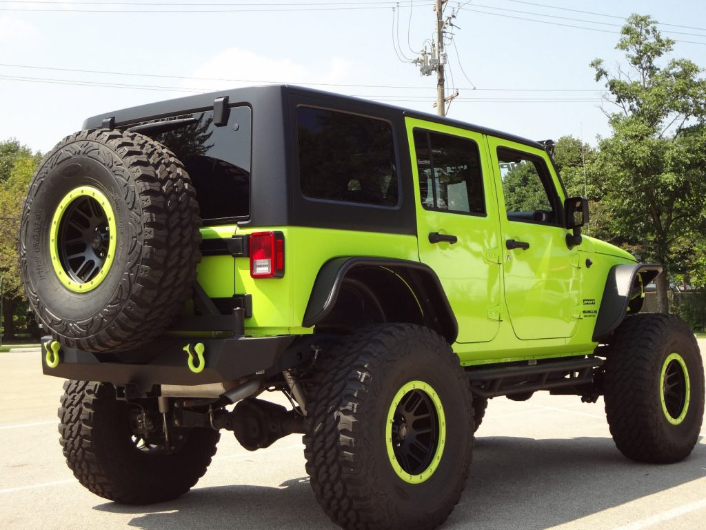 modified 2017 Jeep Wrangler Custom Lifted monster