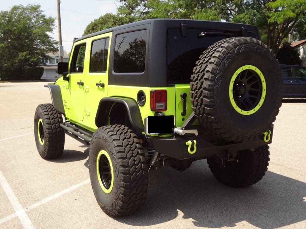 modified 2017 Jeep Wrangler Custom Lifted monster