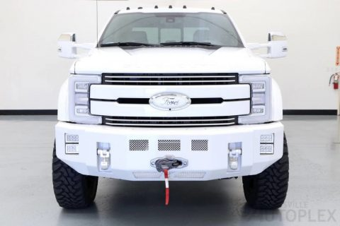 nicely customized 2017 Ford F 450 monster for sale