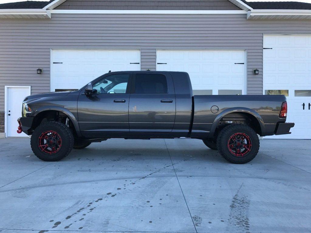 show quality 2017 Ram 3500 Laramie monster truck