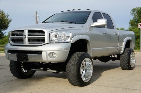 equipped 2008 Dodge Ram 2500 4WD Quad Cab SLT monster truck for sale