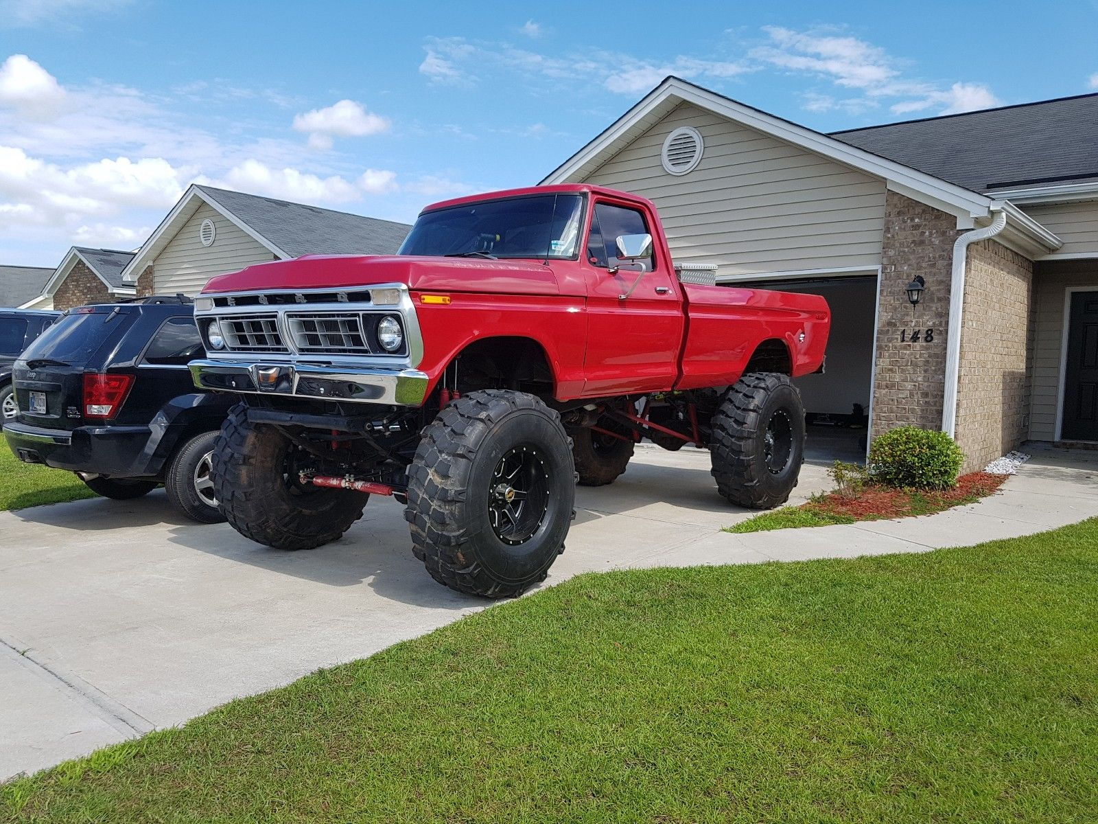 Fuel Injected 1977 Ford F 250 Styleside Monster Truck For Sale