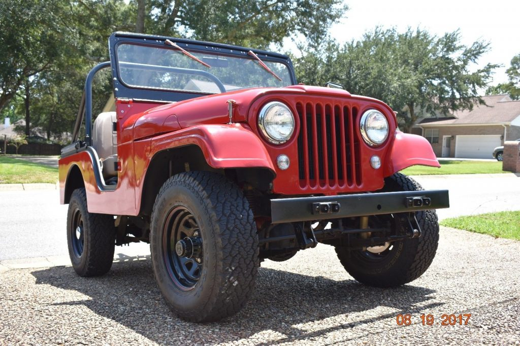 new parts 1961 Willys CJ5 monster