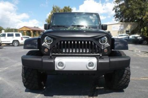 one of a kind 2009 Jeep Wrangler Unlimited monster for sale