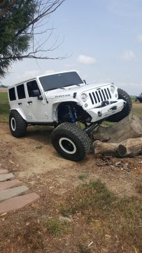 brand new 2017 Jeep Wrangler Rubicon monster for sale