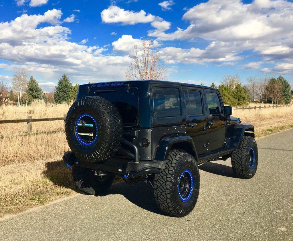 Bruiser conversion 2012 Jeep Wrangler monster truck