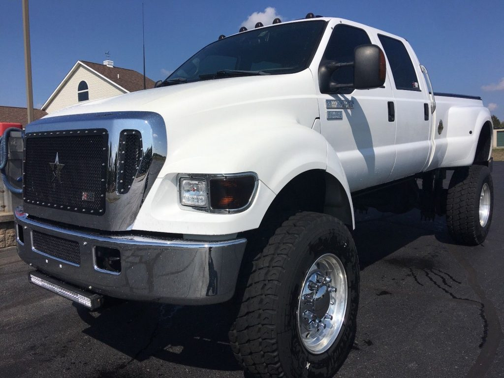 concrete mixer tires 2004 Ford Pickups 650 monster