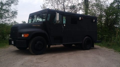 former law enforcement vehicle 1999 Ford G80 ARMORED monster truck for sale