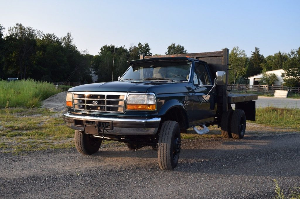 Low Mileage 1996 Ford F 450 Xl Monster For Sale