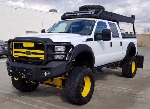 low mileage 2012 Ford F 250 XLT monster truck for sale