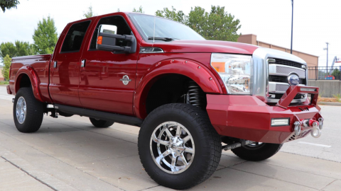 modified 2016 Ford F 250 Platinum monster truck for sale