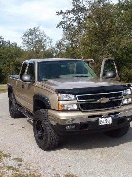 never mudded 2006 Chevrolet Silverado 1500 monster truck for sale