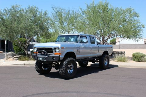 recently restored 1976 Ford F 250 monster truck for sale