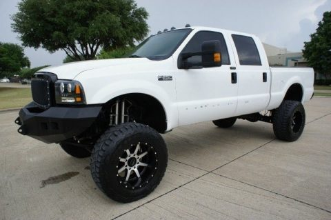 loaded 2003 Ford F 250 Crew Cab Lariat 4WD monster for sale
