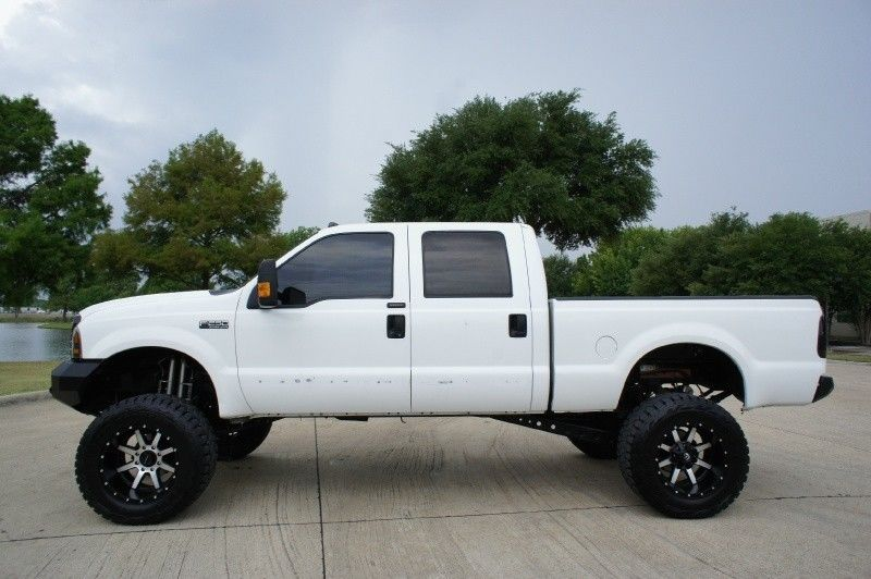 loaded 2003 Ford F 250 Crew Cab Lariat 4WD monster