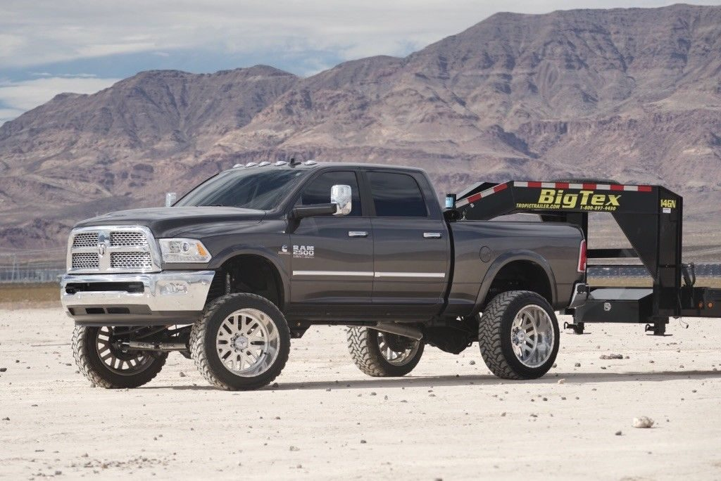 almost every option installed 2017 Ram 2500 Laramie monster truck