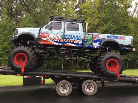 badass 1995 Ford F 350 Monster MUD Truck for sale
