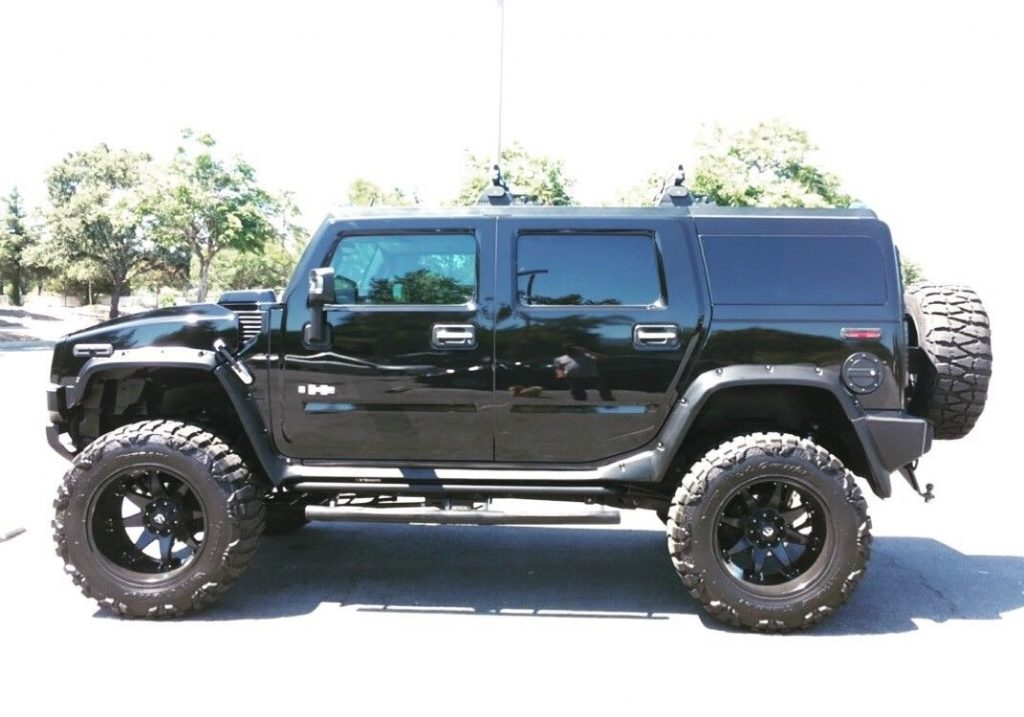 customized 2008 Hummer H2 Luxury monster