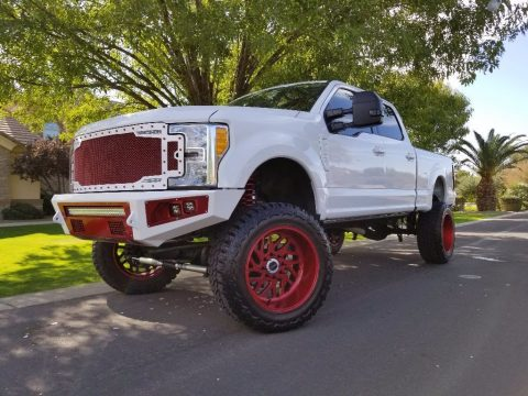 customized 2017 Ford F 250 monster pickup for sale