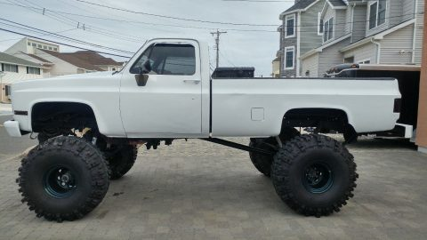 high lift 1985 Chevrolet K20 Pickup monster truck for sale