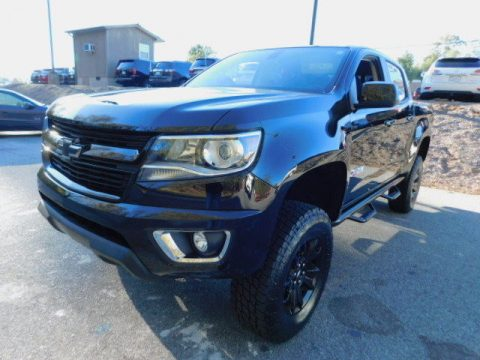 loaded 2017 Chevrolet Colorado Z71 CREW CAB monster truck for sale