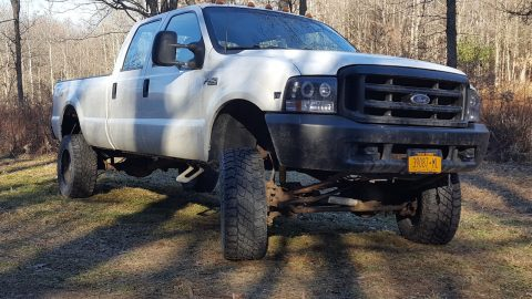 manual trans 1999 Ford F 250 XL monster for sale
