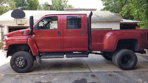 many extras 2007 GMC 4500 monster truck for sale