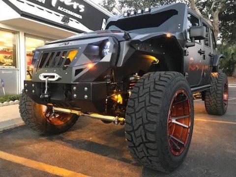 badass 2008 Jeep Wrangler rubicon monster for sale