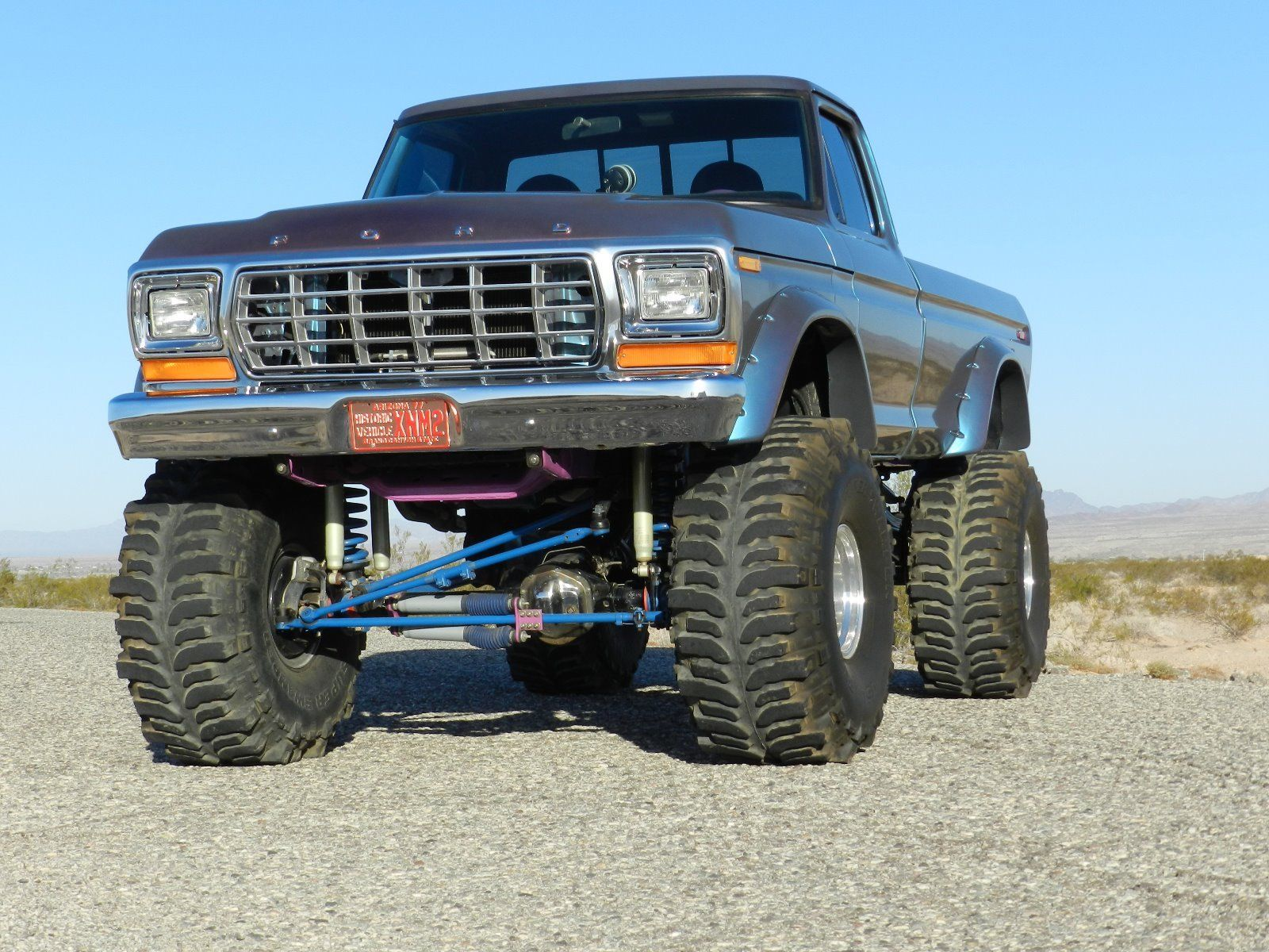 clean 1979 ford f 150 xlt monster truck for sale. Black Bedroom Furniture Sets. Home Design Ideas