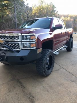 great looking 2015 Chevrolet Silverado 1500 LT monster pickup for sale