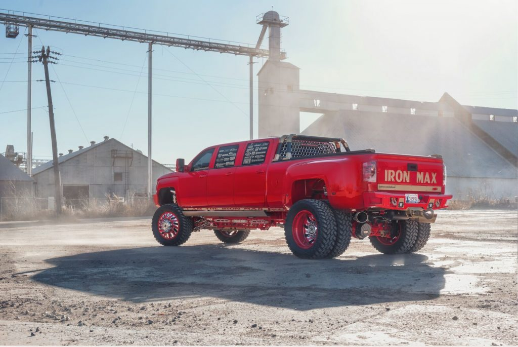 ONE OF A KIND 2016 Chevrolet Silverado 3500 monster truck
