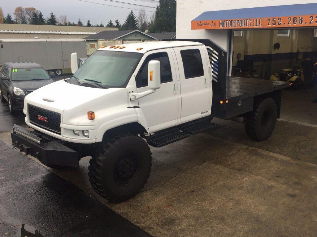 rare 4×4 2005 GMC Kodiak C4500 monster truck