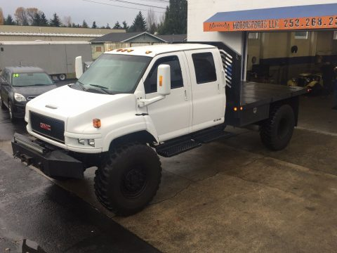 rare 4×4 2005 GMC Kodiak C4500 monster truck for sale