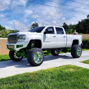 show truck 2015 GMC Sierra 2500 Denali monster for sale