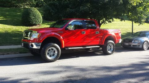 low miles 2011 Ford F 150 monster truck for sale