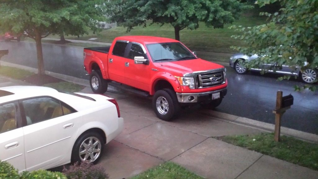 low miles 2011 Ford F 150 monster truck