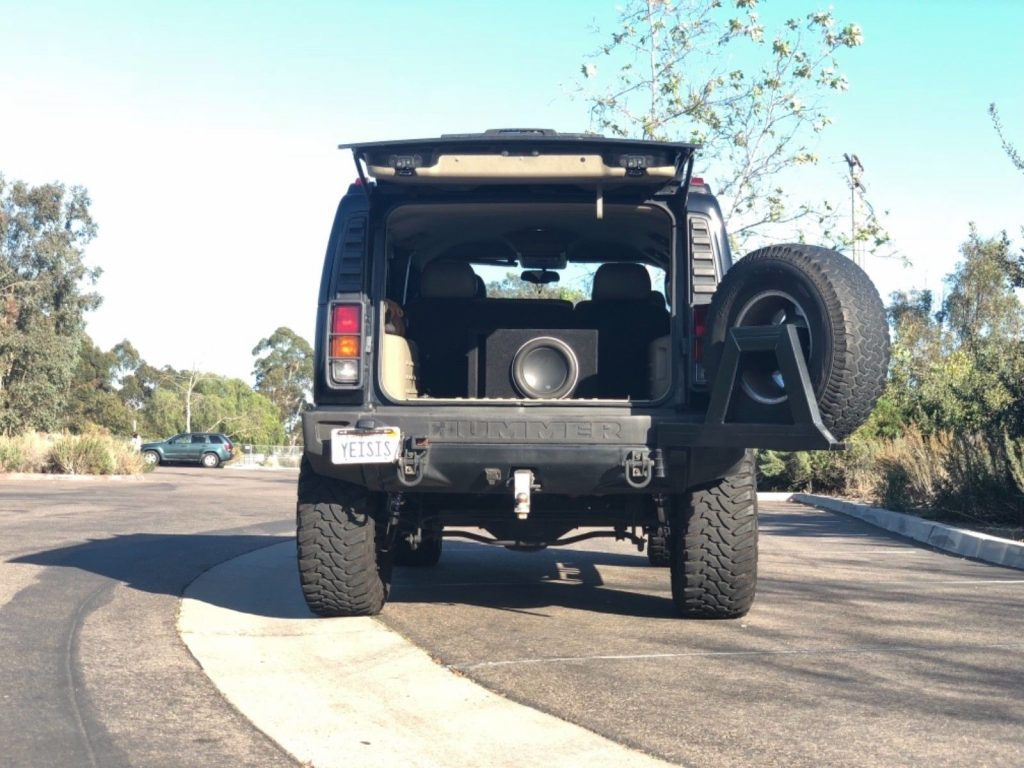 new tires 2003 Hummer H2 monster