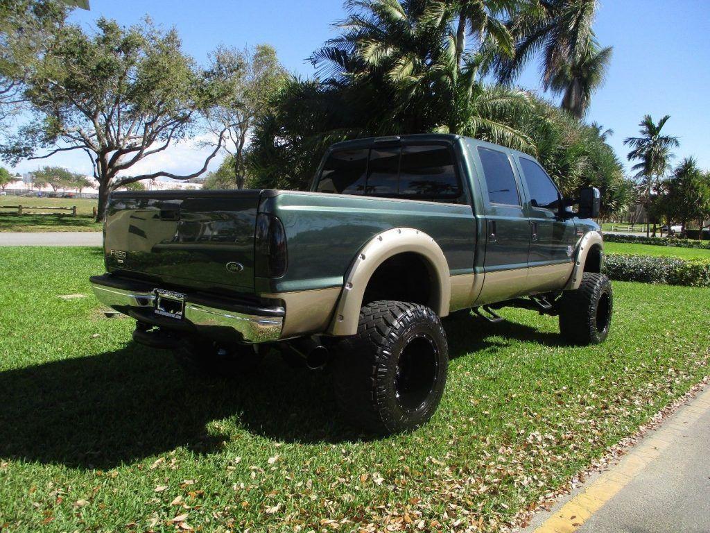 powerstroke diesel 2001 Ford F 250 LARIAT monster