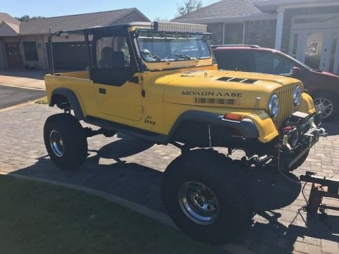 very nicely modified 1982 Jeep CJ monster truck for sale