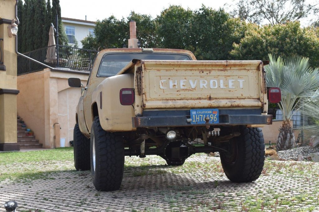 vintage 1975 Chevrolet Pickups monster
