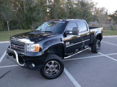 well loaded 2014 GMC Sierra 2500 Denali monster truck for sale