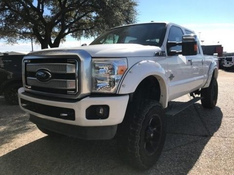 well equipped 2013 Ford F 250 Platinum Lifted monster truck for sale