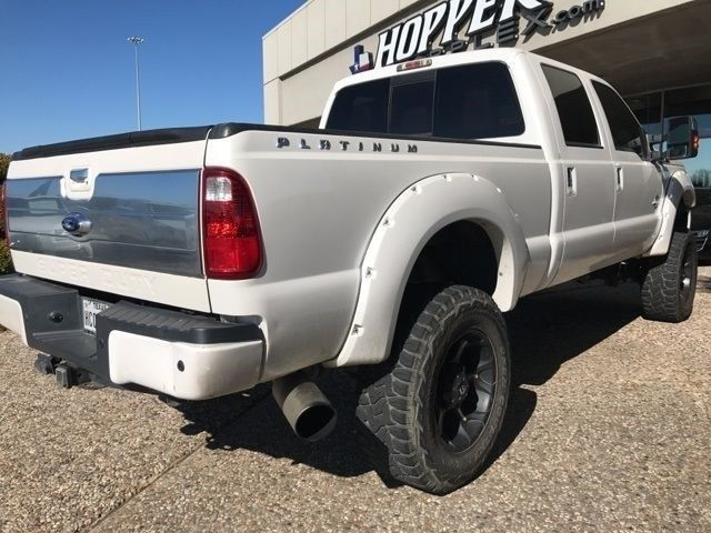 well equipped 2013 Ford F 250 Platinum Lifted monster truck