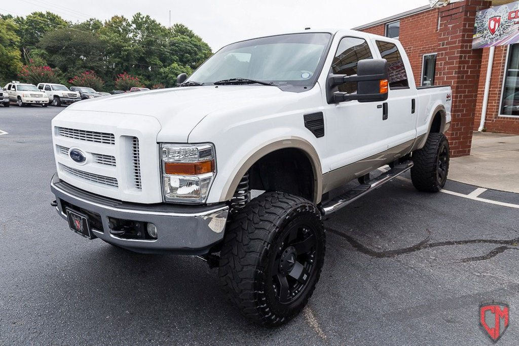 2008 Ford F 350 4WD Crew Cab 156″ Lariat monster truck