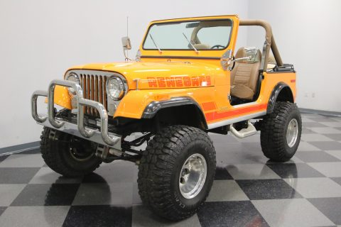 awesome 1983 Jeep CJ 7 monster truck for sale