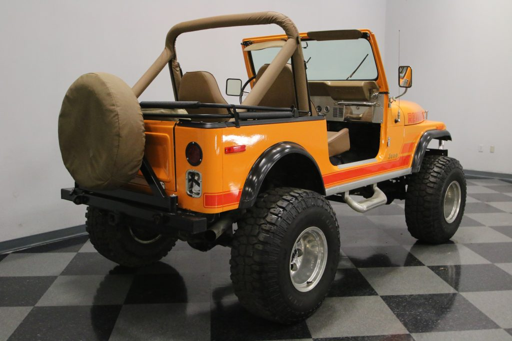 awesome 1983 Jeep CJ 7 monster truck
